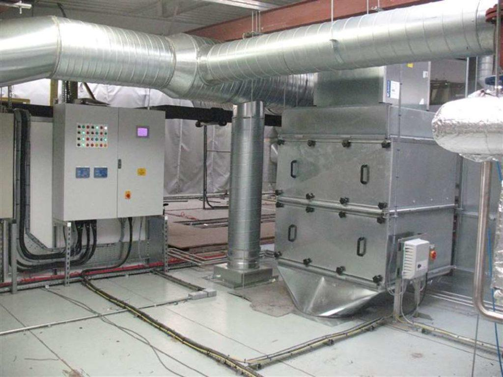 Activated carbon filter fan extract systems designed