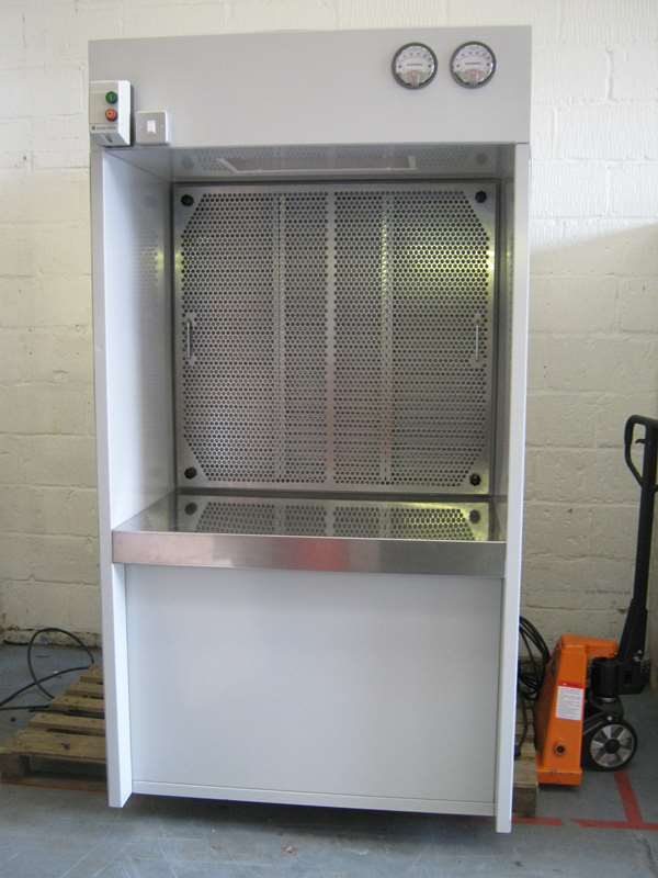Downdraft Booth At Metals Processor Exeon