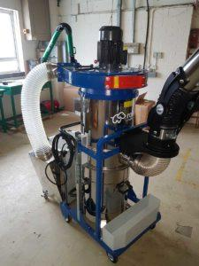 ATEX-RATED MOBILE DUST EXTRACTION USING EXEON ROVER RESOLVE