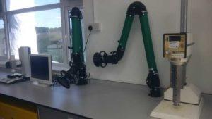 LEV SYSTEMS USING NELLIE EXTRACTION ARMS