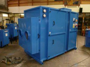 SKID-MOUNTED WELDING FUME EXTRACTOR FOR USE IN ENCLOSED SPACE