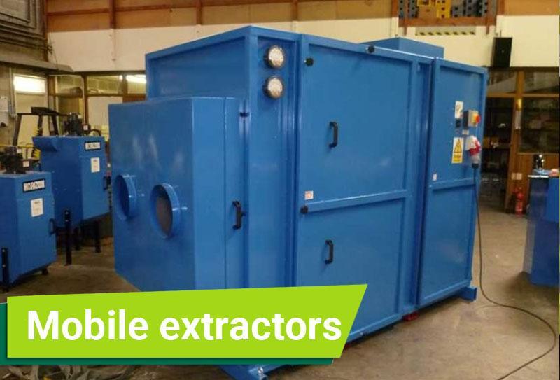 Mobile extractors